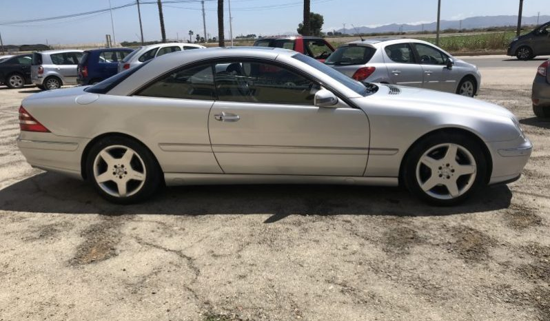 MERCEDES CL 500 5.0 V8 AUTO SPANISH LHD IN SPAIN STUNNING CAR 147000 MILES 2000 full