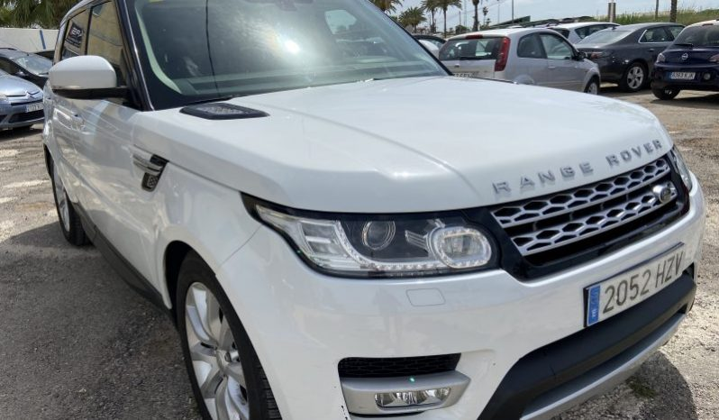 LAND ROVER RANGE ROVER SPORT AUTOBIOGRAPHY AUTO SPANISH LHD IN SPAIN 3.0 SDV6 2014 full