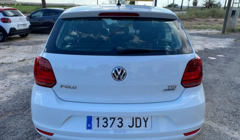 VOLKSWAGEN POLO 1.4 TDI BLUEMOTION SPANISH LHD IN SPAIN 72000 MILES 2015 full